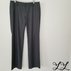 Tommy Hilfiger Pants Parker Gray Stripes Straight
